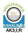 zertifizierung cert 301 ams bau ral kanalbau
